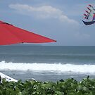 Kite at Legian Beach by marycarr