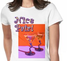 Nice Pair! Womens Fitted T-Shirt