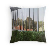 Landscape in Glass Throw Pillow