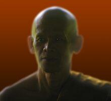Buddhist Monk by Roland Schicht