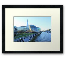 Can you see it from Tower Bridge Framed Print