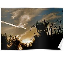 Skyscape At Sundown Poster
