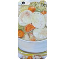 Chicken Soup—Protection, Cure, Caring iPhone Case/Skin