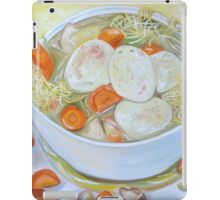 Chicken Soup—Protection, Cure, Caring iPad Case/Skin