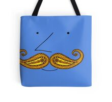 Paisley Mustache Tote Bag
