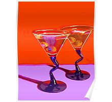 Two Martinis Poster