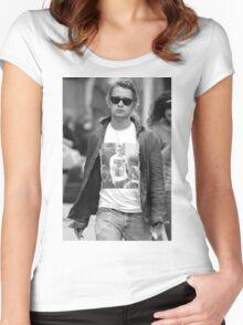 GOSLING VS CULKIN #3 Women's Fitted Scoop T-Shirt