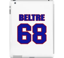 National baseball player Omar Beltre jersey 68 iPad Case/Skin