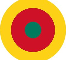 Roundel of Cameroon Air Force  by abbeyz71