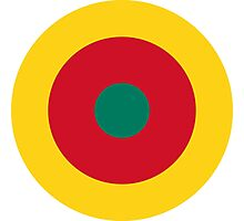 Roundel of Cameroon Air Force  Photographic Print