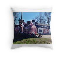 """Just Married""? Throw Pillow"