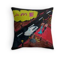 fame ... Throw Pillow