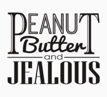 Peanut Butter & Jealous One Piece - Short Sleeve