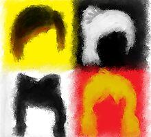 RWBY Watercolors by CptnFuzzKitty