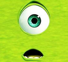 Monster Inc Green Mike by SecondArt