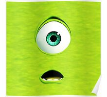 Monster Inc Green Mike Poster
