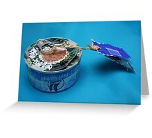 Mail art = Tuna Box, Tuna Book ! Greeting Card