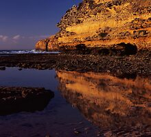 Tidal pool - Point Addis. by Tony Middleton