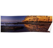 Tidal pool - Point Addis. Poster