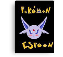 Pokemon Espeon Chibi Canvas Print