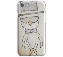 Fancy Penguin iPhone Case/Skin