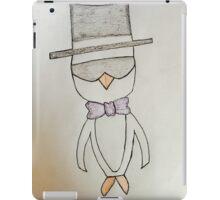Fancy Penguin iPad Case/Skin