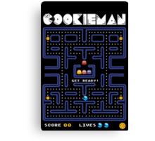 Cookie man! Canvas Print