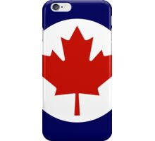 Roundel of the Royal Canadian Air Force iPhone Case/Skin