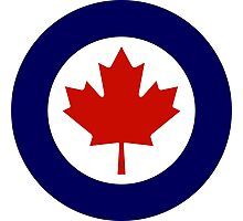Roundel of the Royal Canadian Air Force Photographic Print