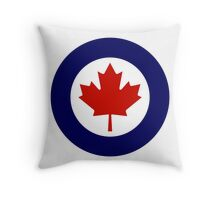 Roundel of the Royal Canadian Air Force Throw Pillow