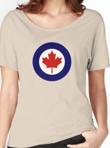 Roundel of the Royal Canadian Air Force Women's Relaxed Fit T-Shirt