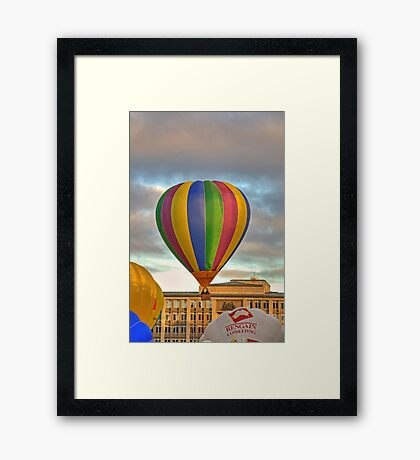 Wall to wall Framed Print