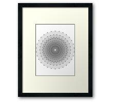 E8 Framed Print