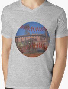 Stadium Memories Mens V-Neck T-Shirt