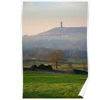 Castle Hill, Huddersfield Poster