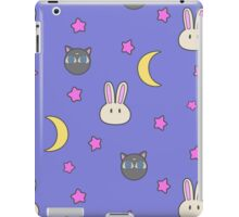 Sailor Moon R inspired Chibusa Luna-P Bedspread Blanket Print SuperS Version iPad Case/Skin