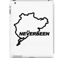 Never Been iPad Case/Skin