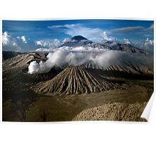 M. Bromo n Mt. Semeru, East Java, INDONESIA Poster