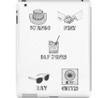 Jamie Foxx Characters iPad Case/Skin