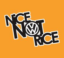 Nice Not Rice - VW T-Shirt