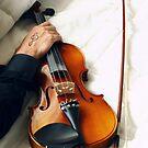 The Violinist by Rachmat Lianda