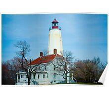 Sandy Hook Light House Poster