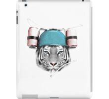 Cool White Tiger iPad Case/Skin