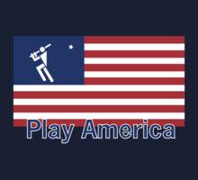 Play Baseball America by Patricia Bolgosano