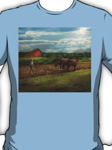 Country - Ringoes, NJ - Preparing for crops T-Shirt