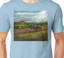 Country - Ringoes, NJ - Preparing for crops Unisex T-Shirt