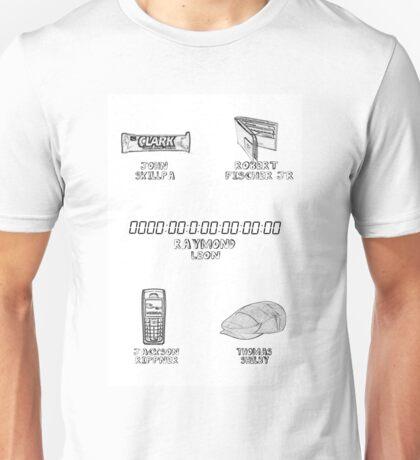 Cillian Murphy Characters Unisex T-Shirt