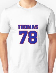 National baseball player Justin Thomas jersey 78 T-Shirt