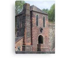 The Horrified Engine House Metal Print