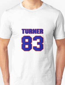 National baseball player Justin Turner jersey 83 T-Shirt
